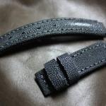 IMG_5069 (Ремешок из кожи ската ручной работы для часов Perret & Fils 19-го века)