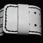 IMG_5290 (Широкий белый ремешок для часов GUESS ручной работы)