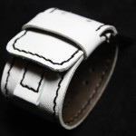 IMG_5291 (Широкий белый ремешок для часов GUESS ручной работы)