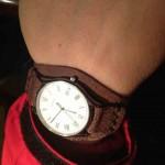 фотография 1 (Ремешок для часов Longines из ската)