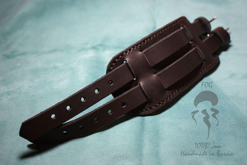 Кожаные ремешки для часов своими руками