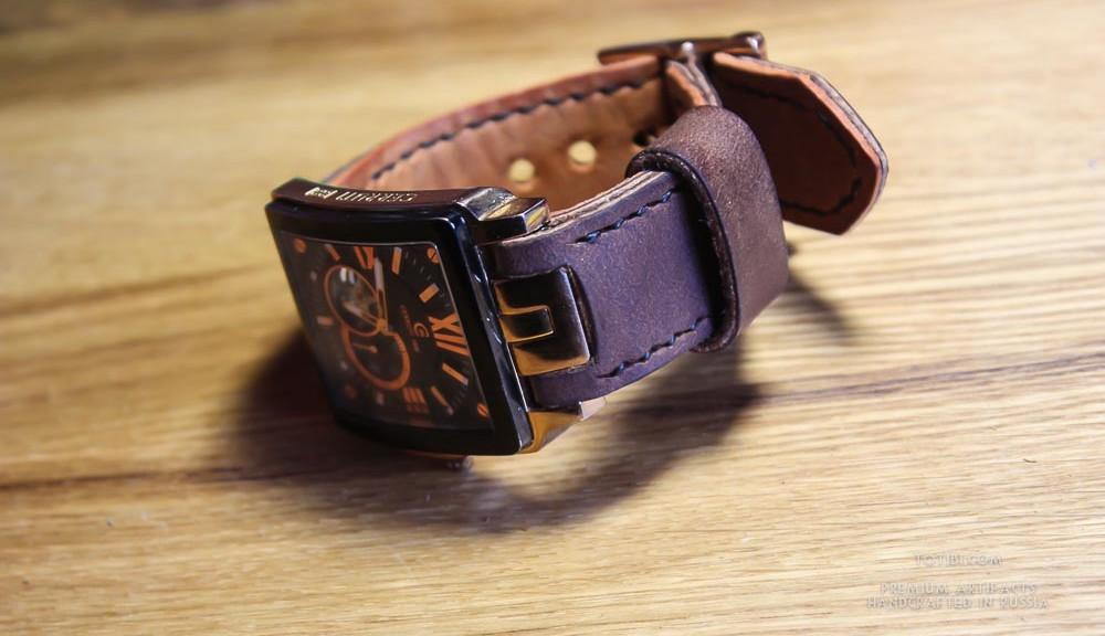 ремешок ручной работы из высококачественной американской лошадиной кожи для часов Cerruti 1881. Заказать купить в Москве с доставкой по России и миру.