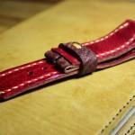 Аукулий ремешок ручной работы для часов Panerai, сшит полностью вруную в Москве. Купить в Москве с доставкой по России и миру.