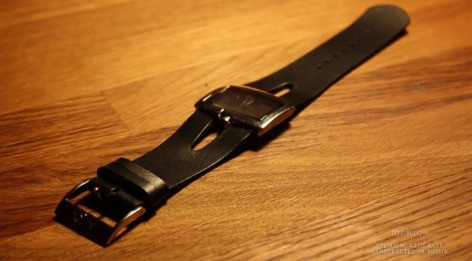 Ремешок ручной работы для часов Alfex из высококлассной кожи, чтобы служить долго.