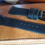 Ремешок ручной работы для часов с нестандартным креплением ремешка к корпусу часов Diesel. Сделано в Москве, доставка по России и миру.
