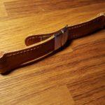 Ремешок ручной работы для часов Swatch из прочной лошадиной кожи