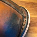 Рад сообщить, что теперь мы научились менять подошву на всех Ботинках с системой Goodyear. Да да, это именно ресолинг (resole), то что так распространено на западе и чего так нехватает у нас в Москве. Это, как привило, все американские ботинки и сапоги. Если у вас есть любимая пара обуви в которой стёрлась подошва и вы не из тех, кто выбрасывает дорогие сердцу обретшие патину и характер боты, то вы оказались именно в том месте где вам в течение нескольких дней заменят подошву на качественную новую фирмы Vibram. Если вы в другом городе- нет проблем, присылайте ботинки нам, мы их восстановим и отправим вам обратно.Рад сообщить, что теперь мы научились менять подошву на всех Ботинках с системой Goodyear. Да да, это именно ресолинг (resole), то что так распространено на западе и чего так нехватает у нас в Москве. Это, как привило, все американские ботинки и сапоги. Если у вас есть любимая пара обуви в которой стёрлась подошва и вы не из тех, кто выбрасывает дорогие сердцу обретшие патину и характер боты, то вы оказались именно в том месте где вам в течение нескольких дней заменят подошву на качественную новую фирмы Vibram. Если вы в другом городе- нет проблем, присылайте ботинки нам, мы их восстановим и отправим вам обратно.