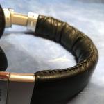Перетяжка реставрация кожи ободка наушников Sony mdr-1r