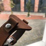 Толстый ремешок для часов Павел Буре с запаянными ушками. Сделан на совесть в Москве, чтобы служить долго.