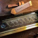 Ремешок ручной работы для бронзовых часов Super Bronzo сделано в москве доставка по России.