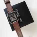 Ремешок ручной работы для часов со сложным креплением Cerruti. Сделан в Москве доставка по России.