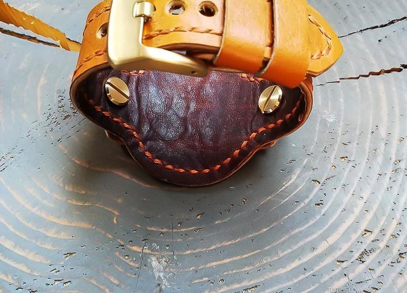 Ремешок ручной работы из лошадиной кожи для женских часов Panerai Radiomir