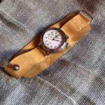 Готов мягкий удобный ремешок для часов Восток с оригинальной застёжкой. Прошит вручную прочной вощёной нитью. Сделан с душой, чтобы служить долго и каждый день радовать.