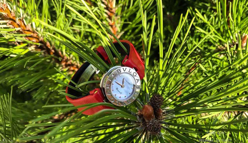 Ремешок ручной работы для часов BVLGARI из кожи сделан в Москве, доставка по России и миру.