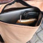 Рюкзак из кожи растительного дубления, продуман для ноутбука размером до 15 дюймов. Сделан вручную в Москве, доставка по России и миру.