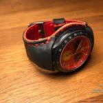 Ремешок ручной работы для часов Ferrari сделан в Москве доставка по россии, оторвалось крепление пластикового ремешка