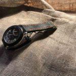 Ремешок ручной работы из толстой однослойной кожи для часов Gerald Genta сделан в Москве доставка по России